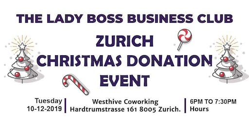 CHRISTMAS DONATION EVENT IS OUR 2019 END YEAR EVENT KINDLY JOIN US