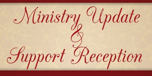Indianapolis Ministry Update and Support Reception