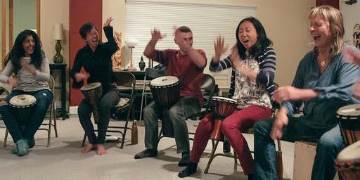 SF Free Your Voice while Drumming 10-week class