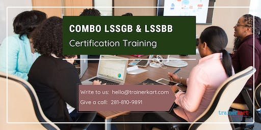 Combo Lean Six Sigma Green Belt & Black Belt 4 Days Classroom Training in Yuba City, CA