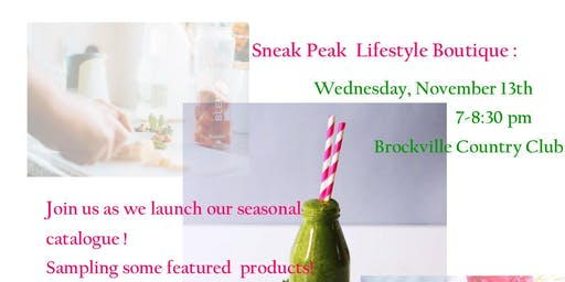 Sneak Peak Lifestyle Boutique : Wellness Wednesday with  Sip & Social