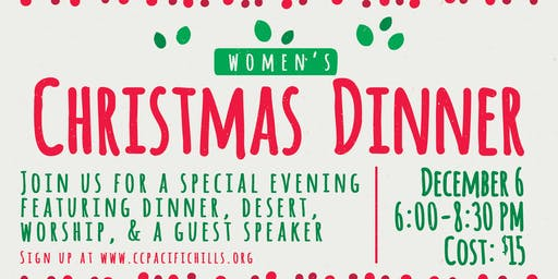 God With Us - Women's Christmas Dinner