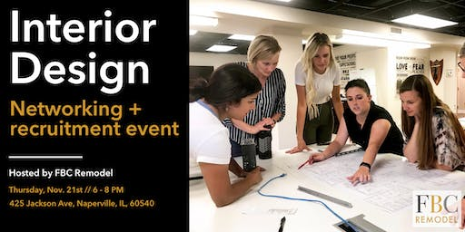 Interior Design Networking & Recruitment Event
