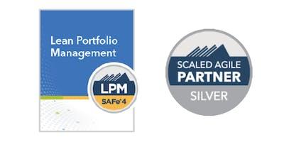 Lean Portfolio Management with LPM Certification in Los Angeles