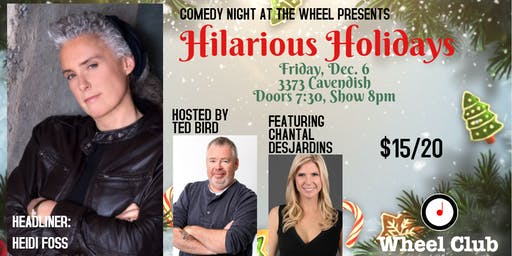 Hilarious Holidays at the Wheel Club with Heidi Foss!