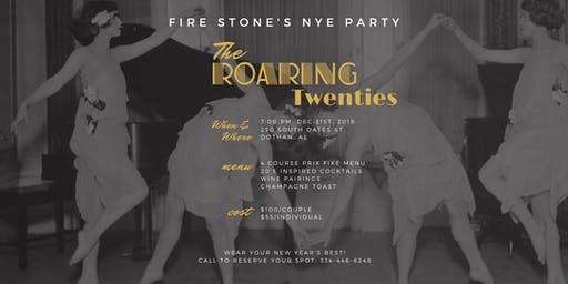 Fire Stone's New Years Eve Dinner!