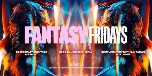 Fantasy Fridays at Stadium Club DC