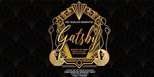 New Year's Eve 2020 | Gatsby NYE | EDEN DC