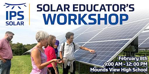 Solar Educator's Workshop - Mounds View High School