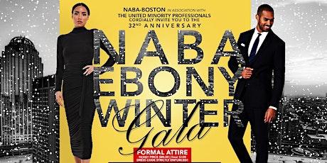 32nd Annual NABA/UMP Ebony Winter Gala - Boston Black MBA tickets