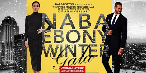 32nd Annual NABA/UMP Ebony Winter Gala - Boston Black MBA