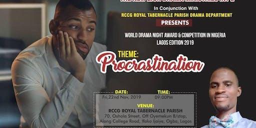 WORLD DRAMA NIGHT AWARD & COMPETITION IN NIGERIA 2019 LAGOS EDITION