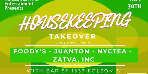 Housekeeping Takeover At Wish Bar 11/30/19