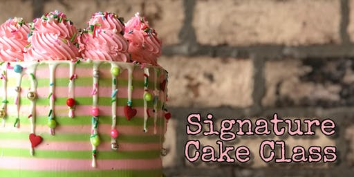 Signature Cake Class - November 18 Evening