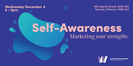 Self-Awareness | Marketing Your Strengths tickets