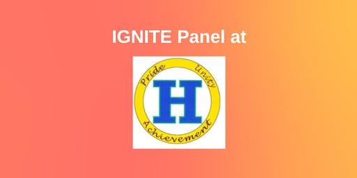 IGNITE Panel at Hazen High School