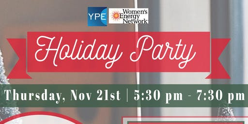YPE/WEN Holiday Party Sponsored by HNB Mortgage and Pioneer