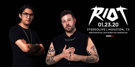 RIOT - Stereo Live Houston tickets