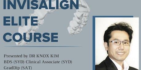 Invisalign Elite Course - Dr Know Kim [Auckland] tickets