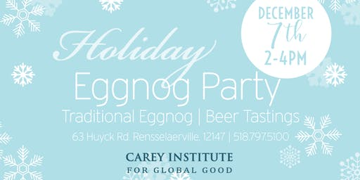 Carey Institute Annual Holiday Eggnog Party