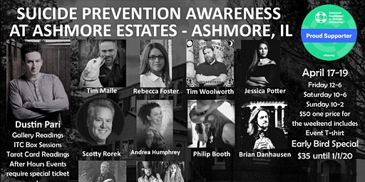 Suicide Awareness Event at Ashmore Estates