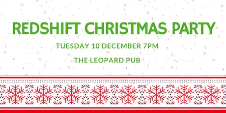 RedShift Christmas Party tickets