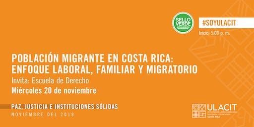 Sello Verde: Dilucidando la realidad de la población migrante en Costa Rica