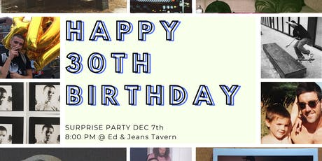 Nick's Surprise Birthday Party! tickets