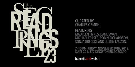 Tartan Turban Secret Readings #23 tickets