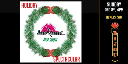 Just Dance Studio  - Holiday Spectacular: 4pm Performance