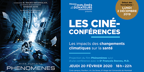 LES CINÉ-CONFÉRENCES  | Avec Dr François Reeves tickets