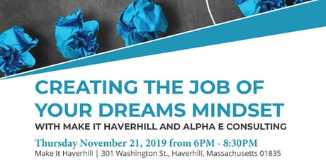Creating the Job of your Dreams Mindset tickets