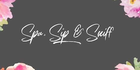 "Triple ""S"" Girls' Night: Spa, Sip & Sniff tickets"