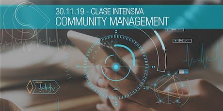 Clase Intensiva Community Management - Santa Fe entradas