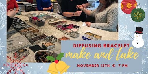 Diffusing Bracelet Make & Take Workshop
