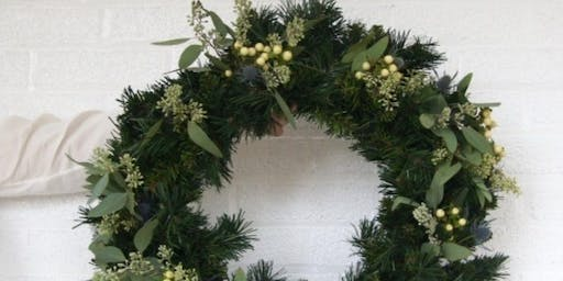 Tis the Season: Holiday Wreaths at Calico with Alice's Table