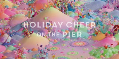 Pip & Pop Art Installation at the Pier