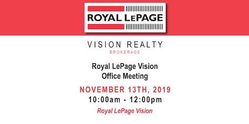 Royal LePapage Vision Office Meeting