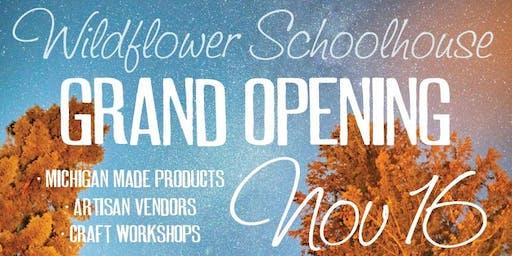 Grand Opening of Wildflower Schoolhouse