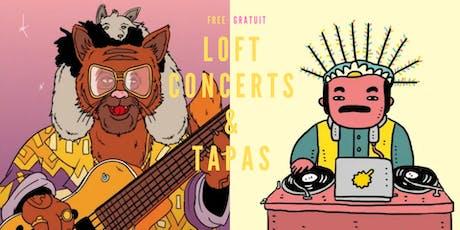 Loft Concerts & Tapas tickets