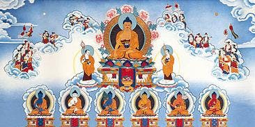 New Year's Day Event: Confession Buddha Practice
