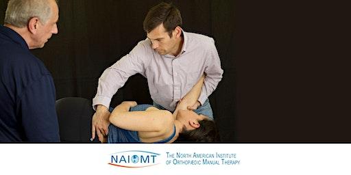 NAIOMT C-725B Advanced Spinal Manipulation Part B [Seattle/Renton]2020