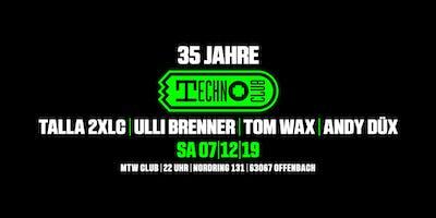 35 jahre Technoclub