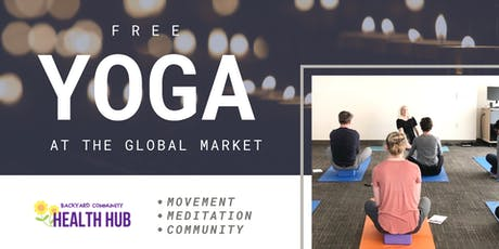 Free Yoga at the Global Market tickets