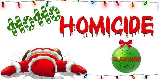 HoHo Homicide: Murder Mystery Dinner
