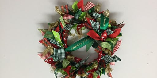 Christmas Wreath Making Demonstration