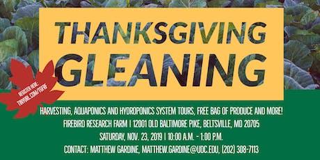 Thanksgiving Gleaning at Firebird Farm tickets