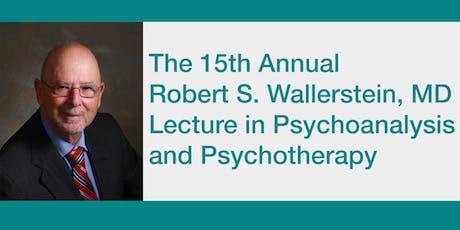2020 Wallerstein Lecture in Psychoanalysis & Psychotherapy tickets