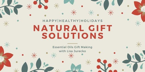 Holiday Gift Making with Essential Oils
