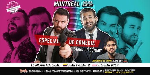 MONTREAL | Especiales de Comedia de Juan Cajiao & Stephan Dyer